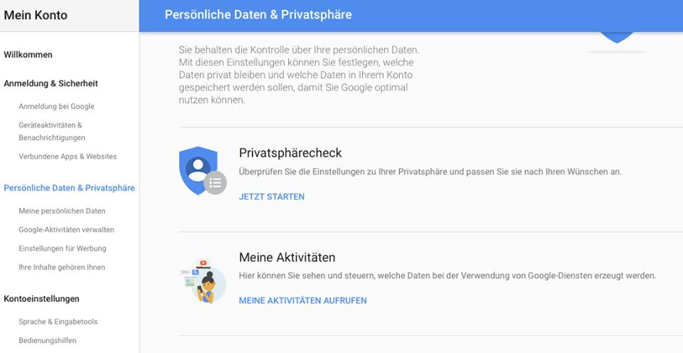 IT Privacy Update: Google personalisiert Cookies